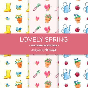 Kolekcja wiosenny wzór
