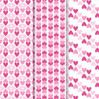 Kolekcja wzór serca