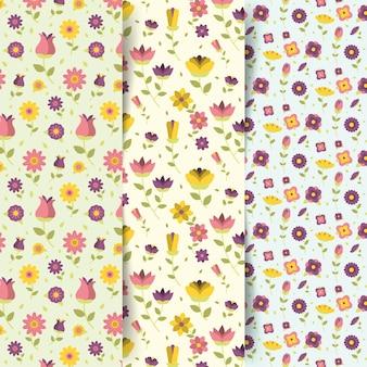 Kolekcja wzór wiosenny