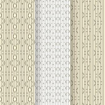Kolekcja wzorów geometrycznych