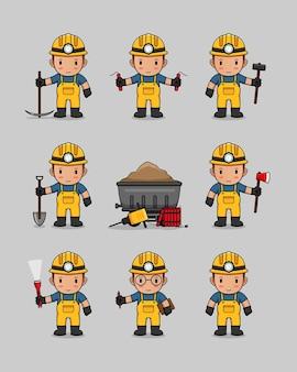 Kolekcja wzorów przemysłu wydobywczego
