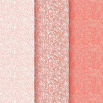 Kolekcja wzorów zaokrąglonych linii