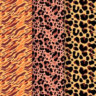 Kolekcja wzorów zwierzęcych