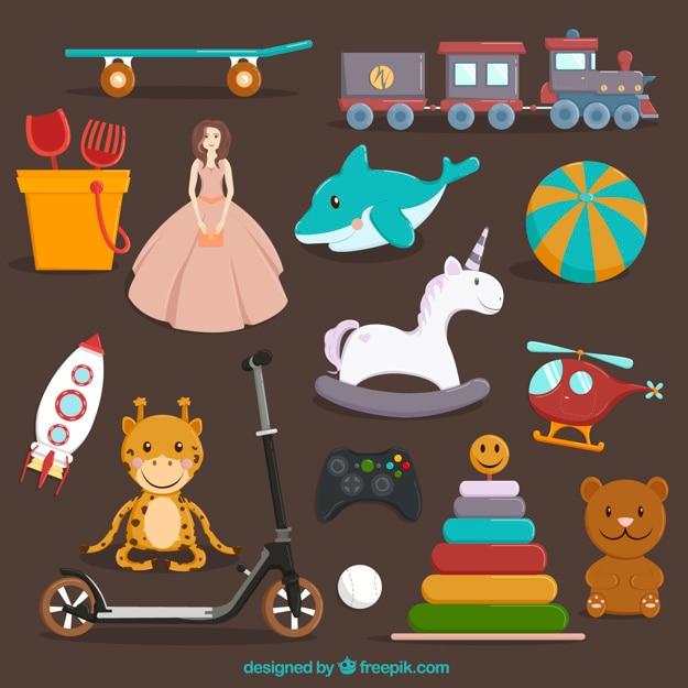 Kolekcja zabawek