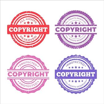 Kolekcja znaczków autorskich