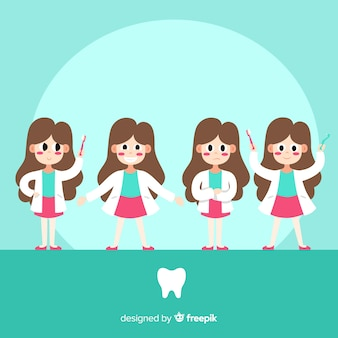 Kolekcja znaków dentystycznych