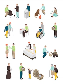Kolekcja znaków humanitarnych