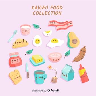 Kolekcja żywności kawaii