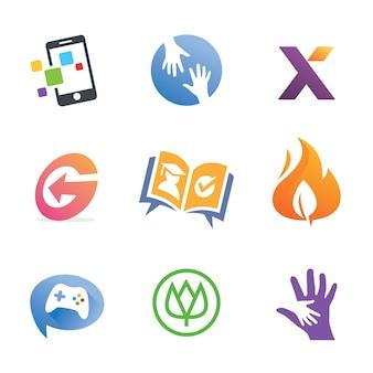Kolekcje creative business symbol