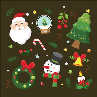 Kolekcje elementów świątecznych