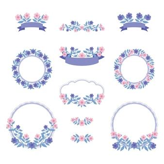 Kolekcje flower frame i buquets