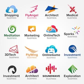 Kolekcje ikon kreatywnego biznesu
