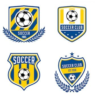 Kolekcje logo piłki nożnej
