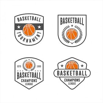Kolekcje logo turniejów koszykówki