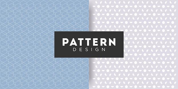 Kolekcje prostych wzorów bez szwu