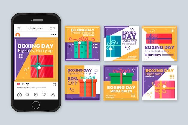 Kolekcjonowanie kolekcji instagram story w drugi dzień świąt