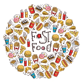 Koło fast food