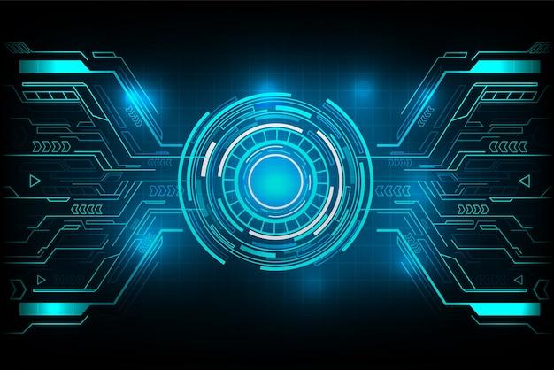 Koło futurystycznej technologii