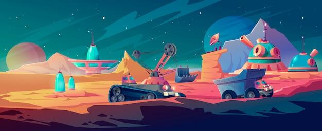 Kolonizacja planet i górnictwo kosmiczne, badania