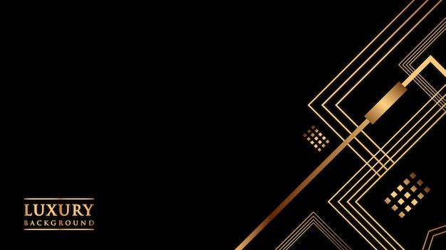 Kolor gradientu streszczenie tło złoto