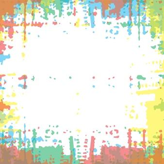 Kolor grunge ramka streszczenie