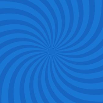 Kolor niebieski koło wirowa tryśnięcie tło. ilustracja wektorowa.