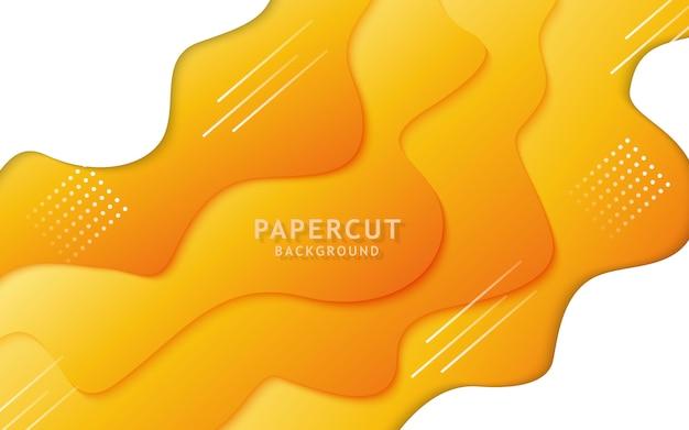 Kolor nowoczesny papier wyciąć tło.