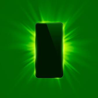 Kolor okładki na telefon nowoczesny tło. ilustracja wektorowa