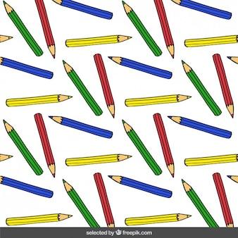 Kolor ołówki wzór
