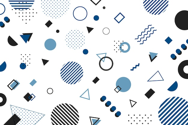 Kolor tła geometrycznego roku 2020