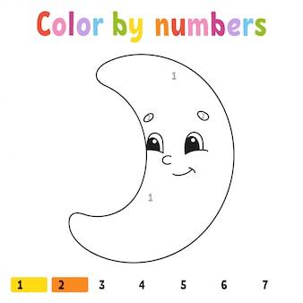 Kolor według liczb.