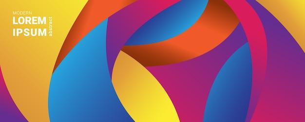 Kolorowa abstrakcjonistyczna tło wektorowa ilustracyjna grafika.