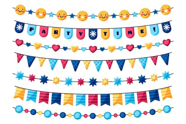 Kolorowa dekoracja urodzinowa