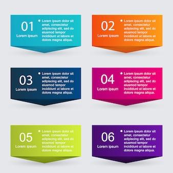 Kolorowa grafika informacyjna do prezentacji biznesowych.