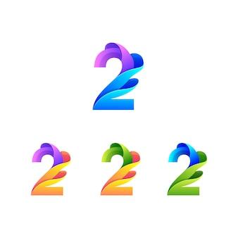 Kolorowa ilustracja numer dwa
