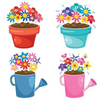 Kolorowa ilustracja rośliny ustawiać