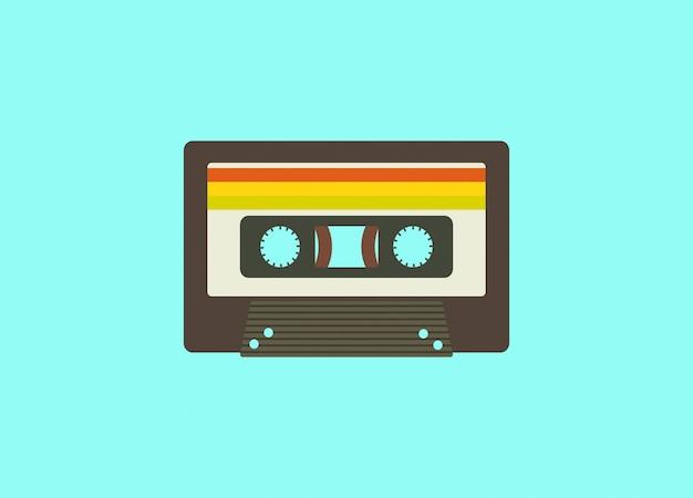 Kolorowa kaseta
