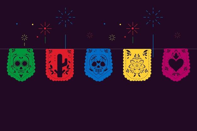 Kolorowa kolekcja meksykańskiej trznadel