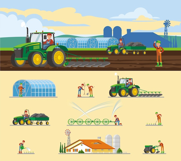 Kolorowa koncepcja rolnictwa