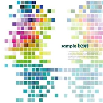 Kolorowa mozaika