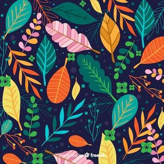 Kolorowa ręka rysująca opuszcza tło