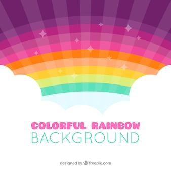 Kolorowa tęcza tło