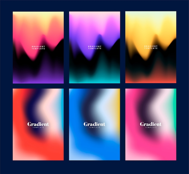 Kolorowa ulotka szablonu projekta ilustracja