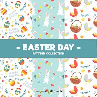 Kolorowa Wielkanocna dzień wzór kolekcja