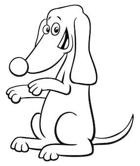 Kolorowanka bohatera baging psa