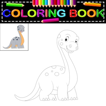Kolorowanka dinozaura