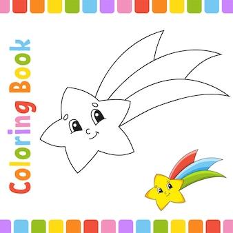 Kolorowanka dla dzieci wesoły charakter