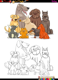 Kolorowanka dla psów kreskówek