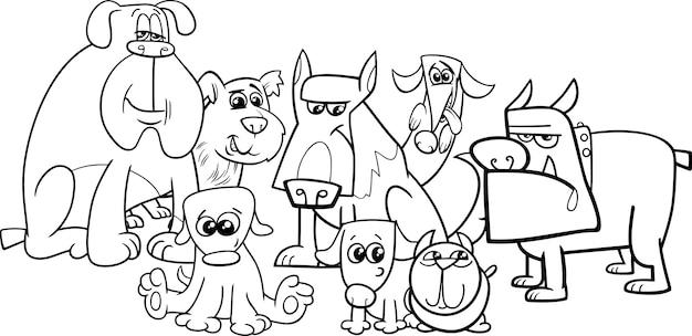 Kolorowanka dla psów