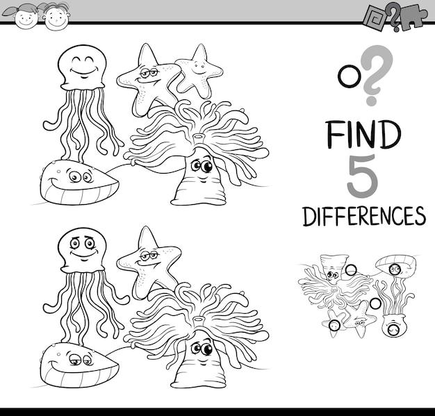 Kolorowanka game of differences